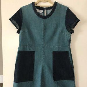 Anthropologie Denim Dress